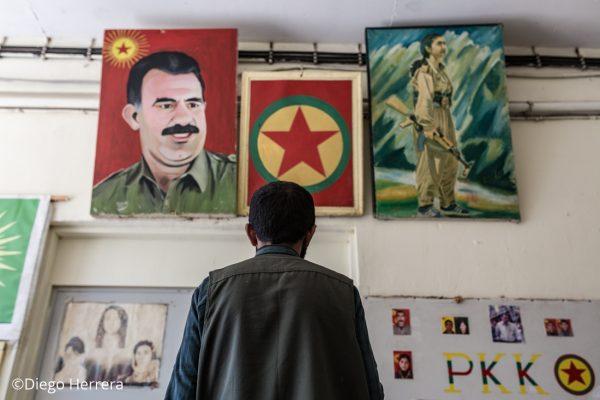 Ahmoud refugiado kurdo y excombatiente de las YPG