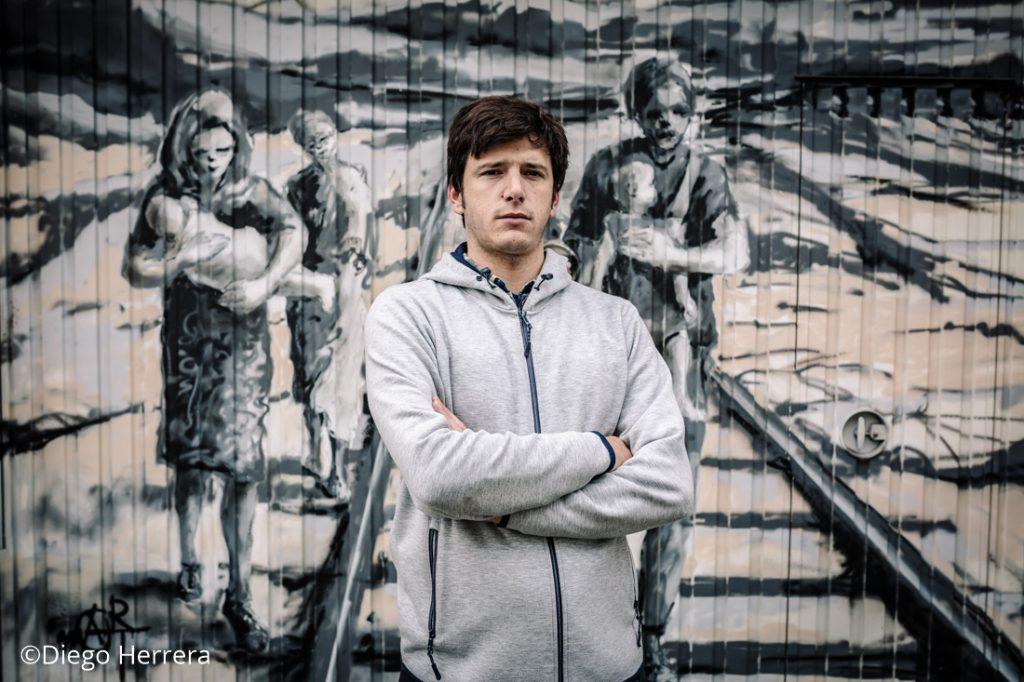 """Bruno Álvarez, presidente y fundador de la ONG """"No Name Kitchen"""" / Diego Herrera"""